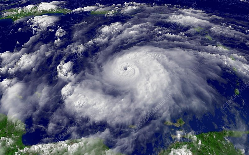 Hurricane Emily, 14th July 2005