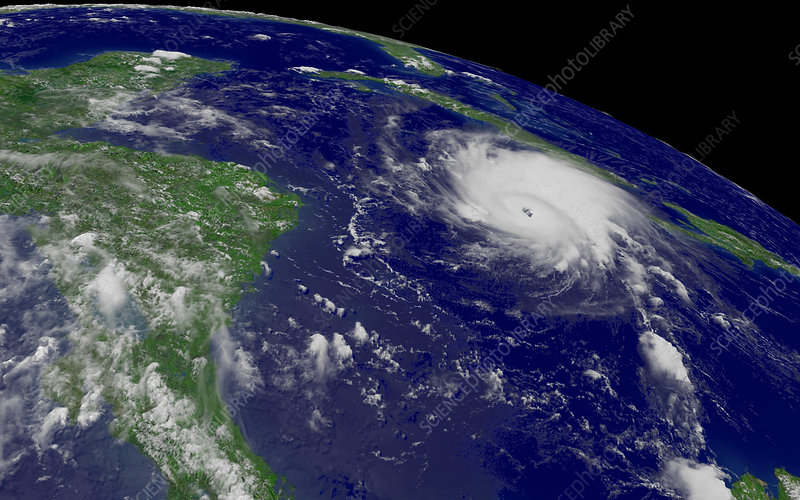 Hurricane Emily, 16 July 2005