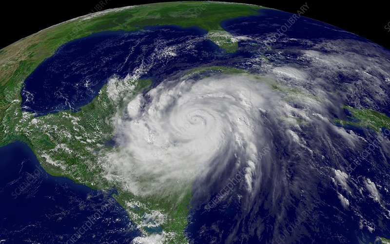 Hurricane Wilma, 19th October 2005
