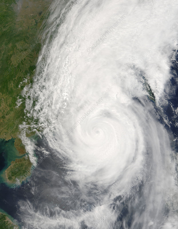 Super typhoon Chanchu, 17th May 2006