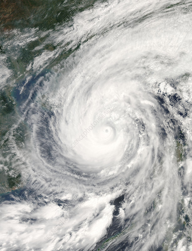 Super typhoon Chanchu, 16th May 2006
