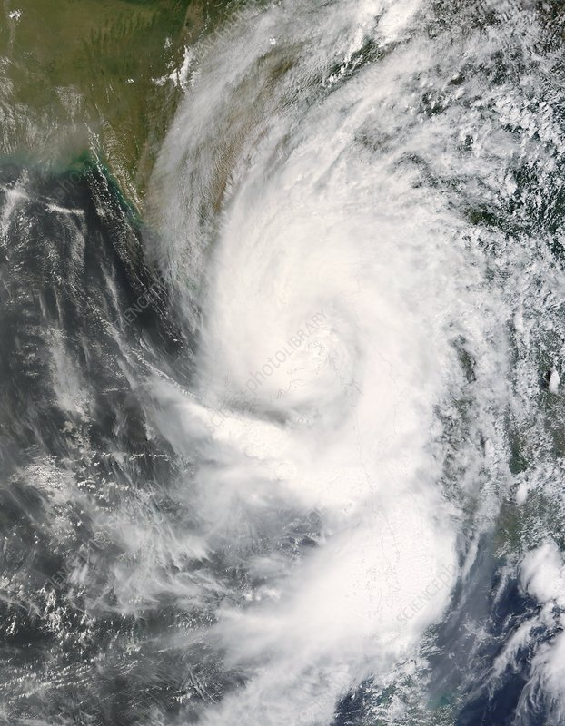 Tropical cyclone Nargis, May 2008
