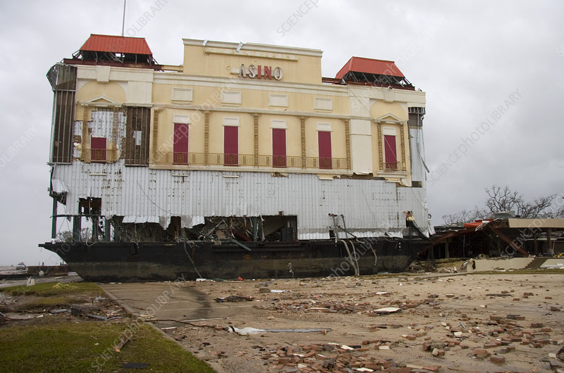 Hurricane Katrina damage