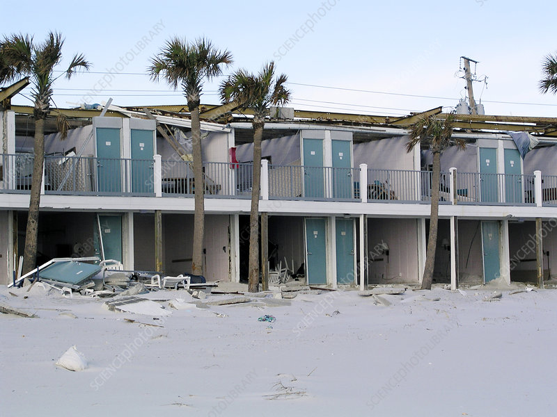 Aftermath of Hurricane Ivan