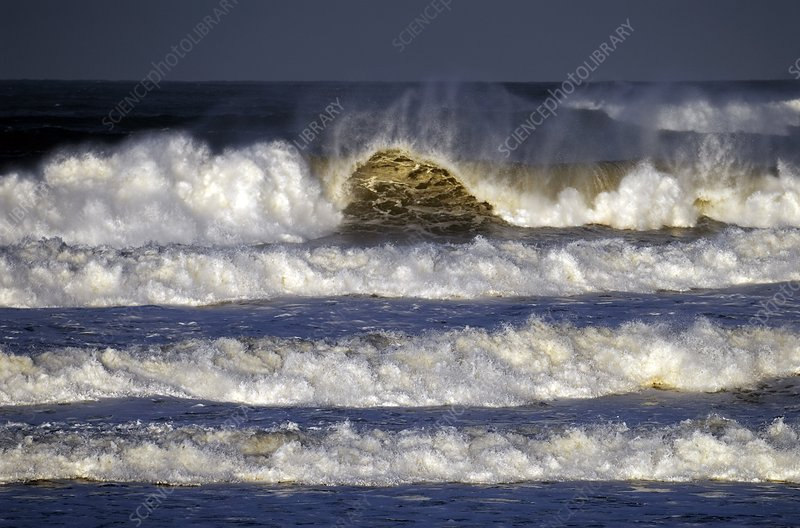 North Sea storm surge, November 9th 2007