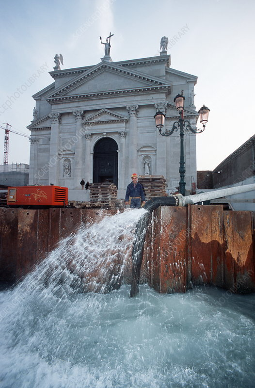 Flood defences, Venice
