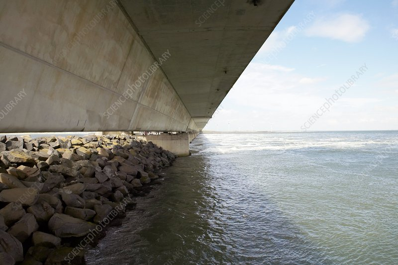 Flood barrier, Netherlands