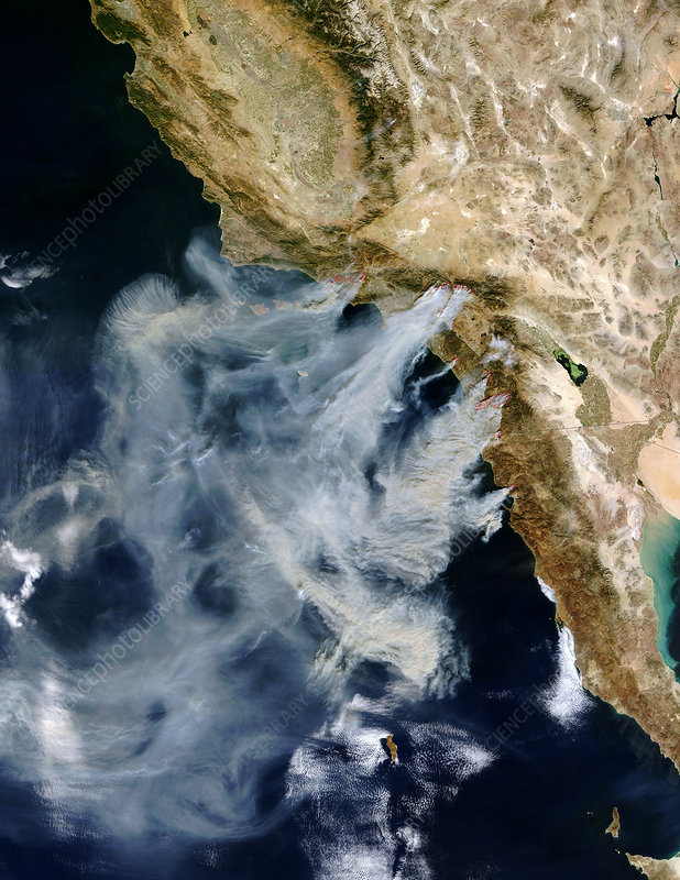 Californian wild fires