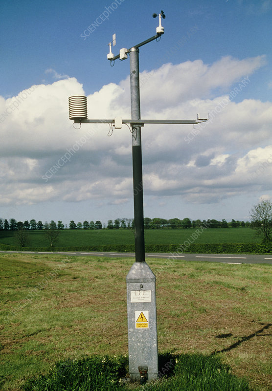 Automated weather monitoring station