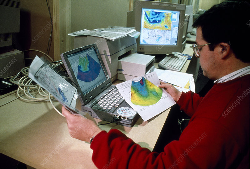 Scientist Studies FASTEX Weather Data