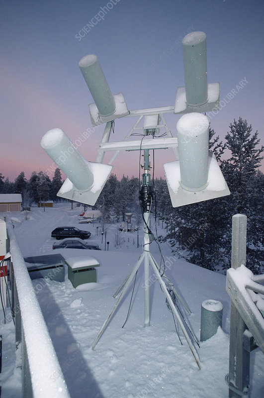 Meteorological antennas