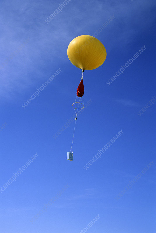 Weather Balloon and Radiosonde