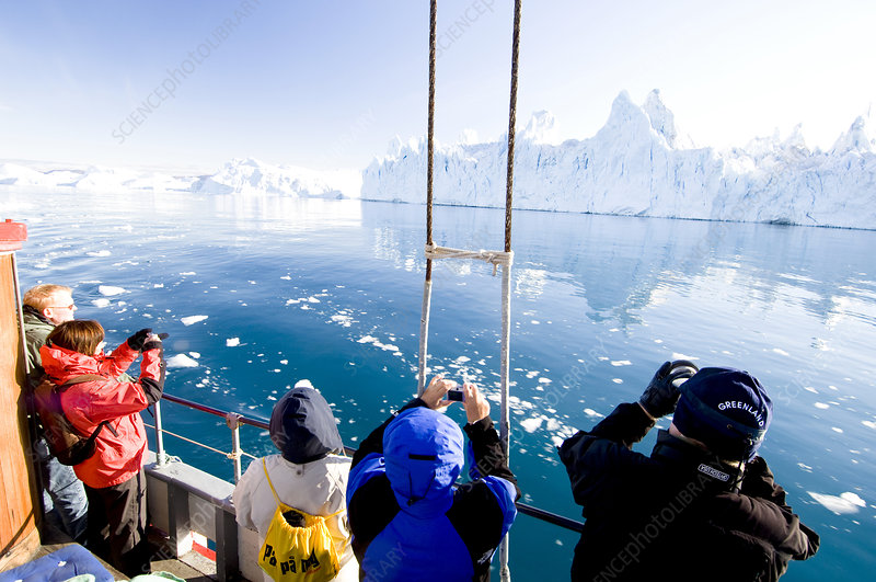 Arctic tourists