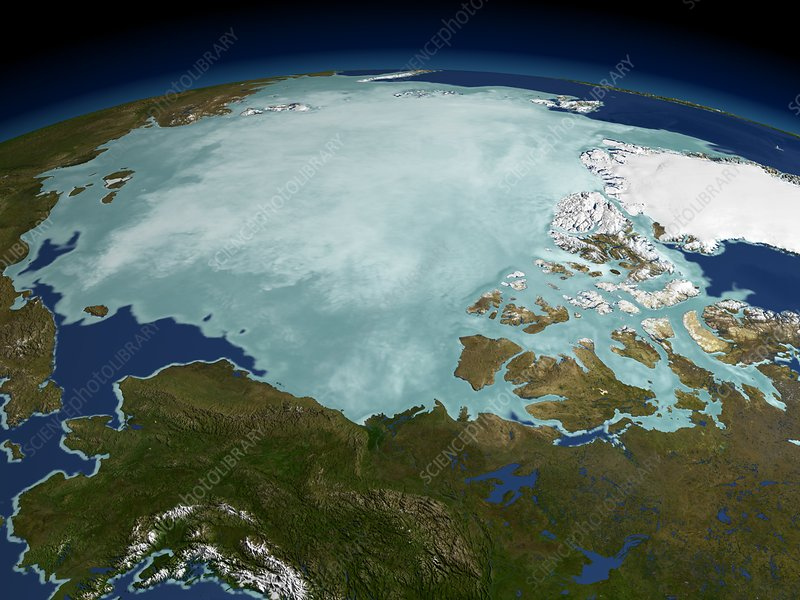 Arctic sea ice, 2002