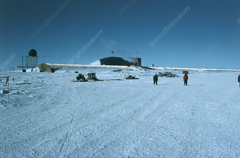 US base, Amundsen-Scott Station, Antarctic