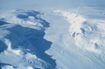 Liv Glacier in Antarctic