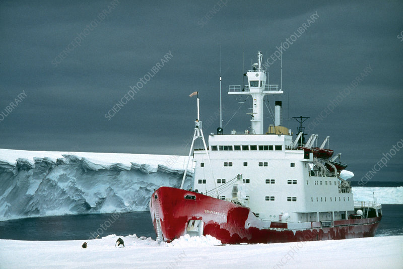 The British Antarctic Survey Icebreaker