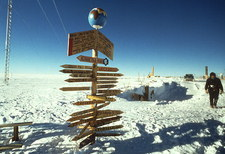 South Magnetic Pole near Vostok base