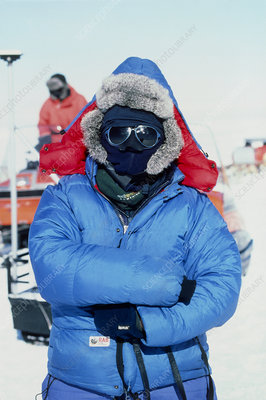 Antarctic researcher