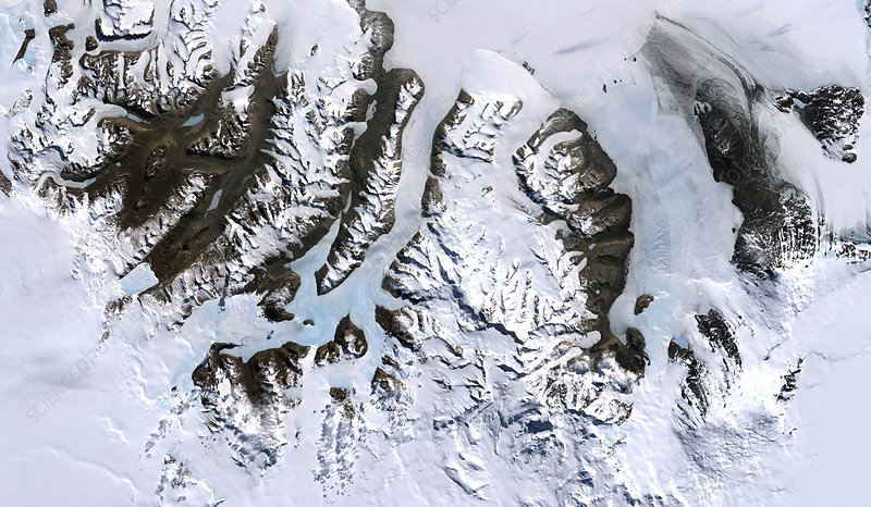 Dry valleys, Antarctica