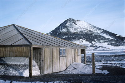 Scott's hut, Antarctica