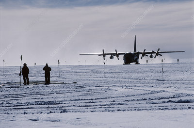 Antarctic airfield