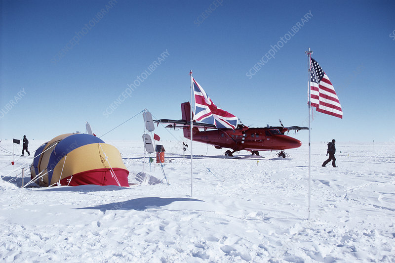 Antarctic field camp