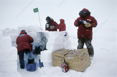 Antarctic field training