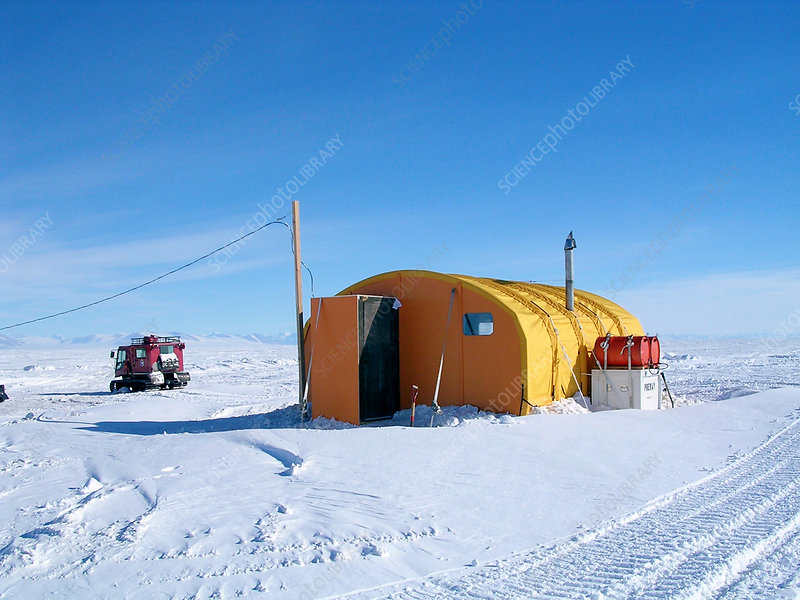 Antarctic research station, McMurdo Base