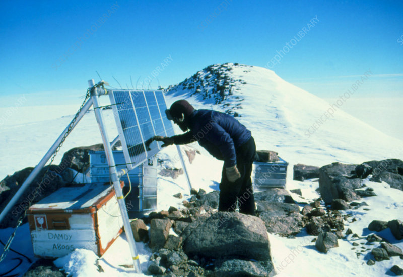 Glaciology research