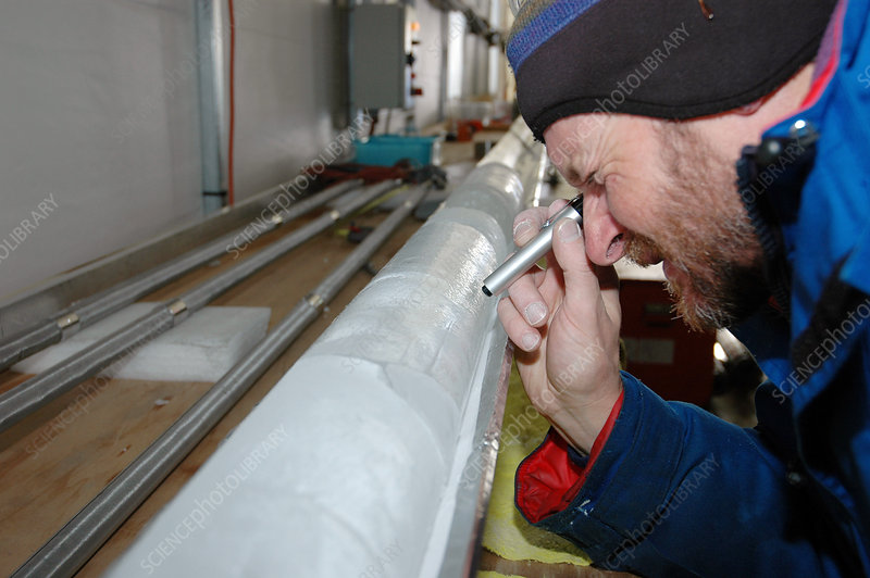 Ice core research, Antarctica