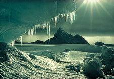 Iceberg and icicles
