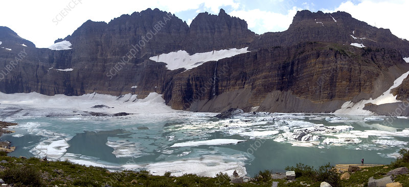 Grinnell Glacier and Lake, 2004