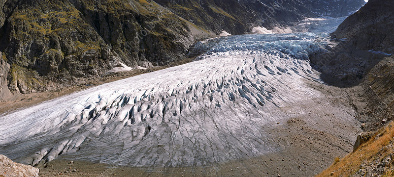 Steigletscher glacier, Switzerland, 1994