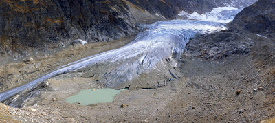 Steigletscher glacier, Switzerland, 2006