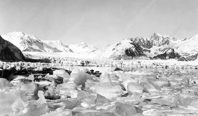 Northwestern Glacier, Alaska, in 1940