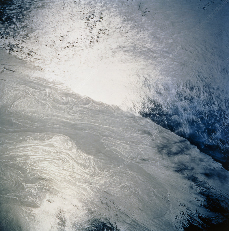 Gulf Stream from space