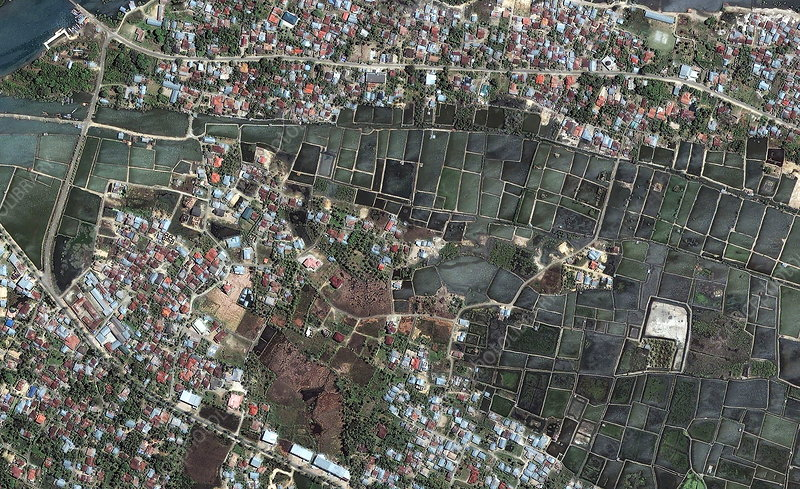 Banda Aceh, before 2004 tsunami