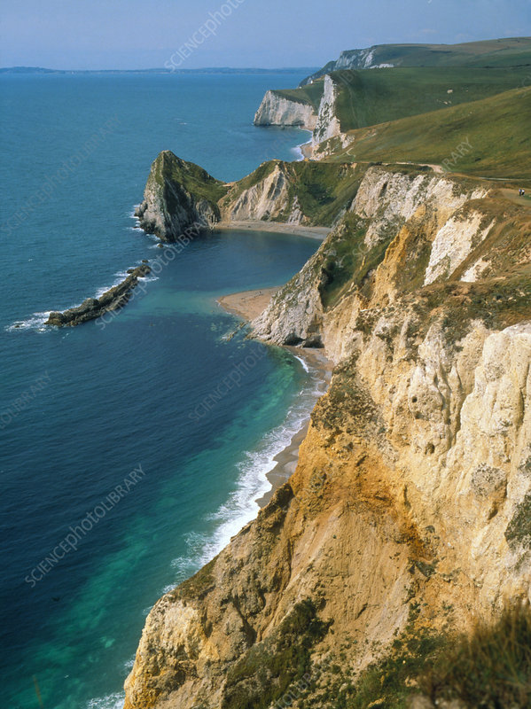 View of Dorset coastline