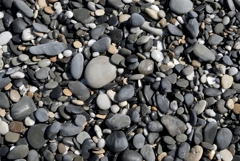 Pebbles on a beach