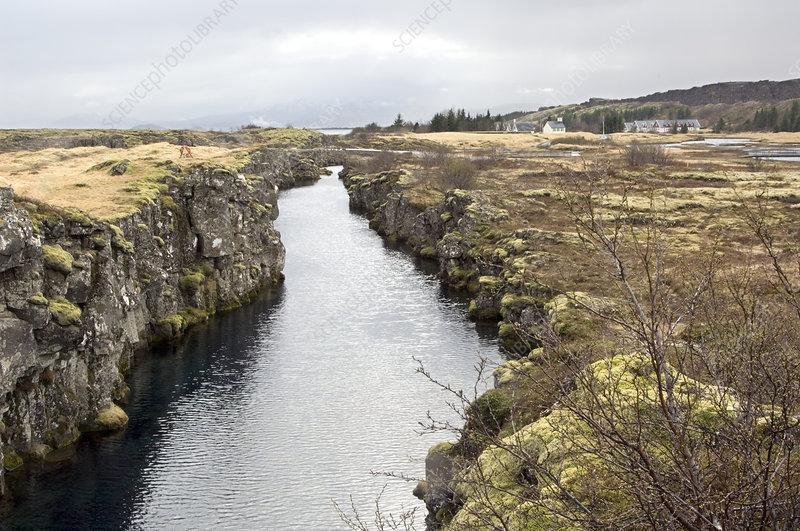 Plate boundary, Iceland
