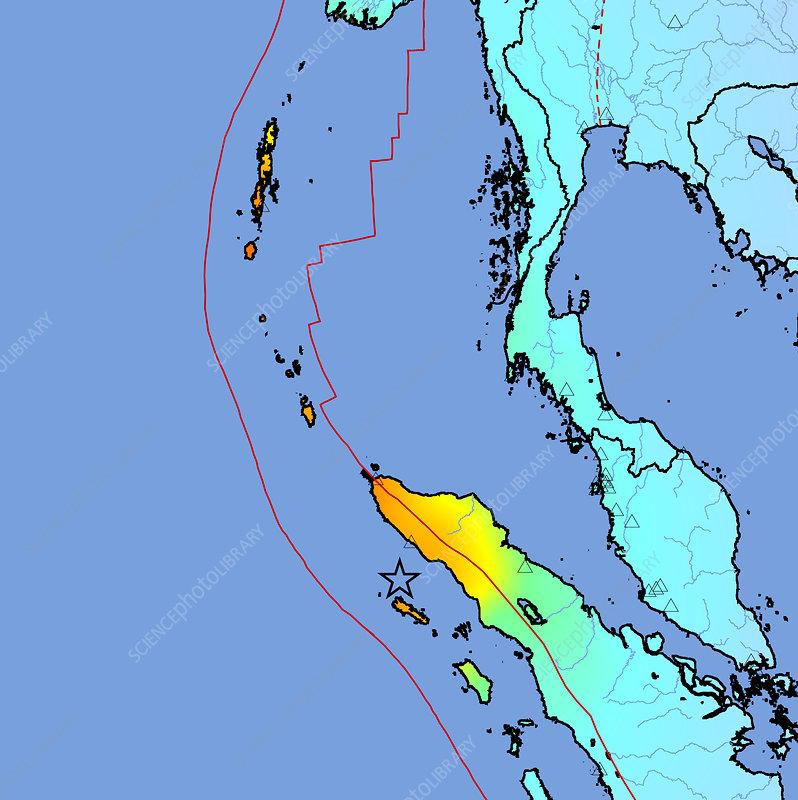 2004 earthquake and tsunami. 2004 tsunami earthquake