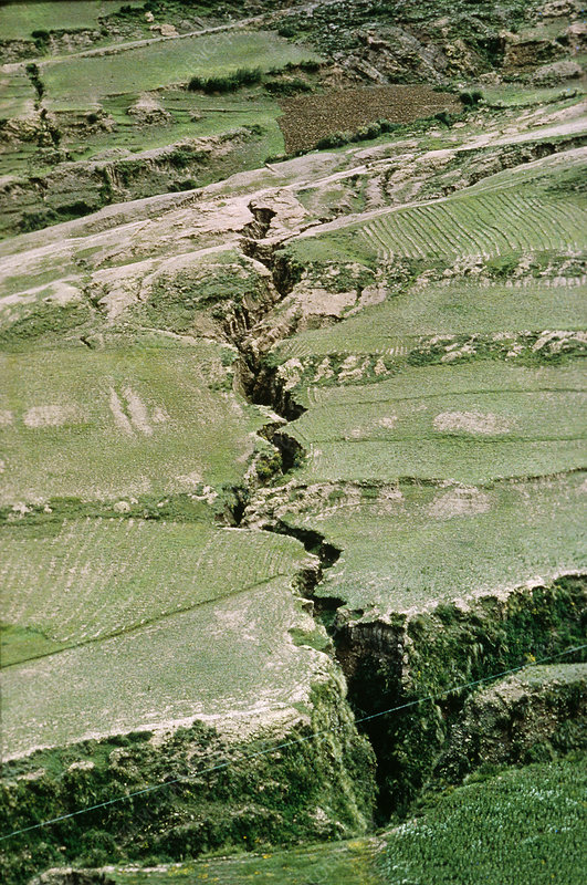Earthquake in Peru