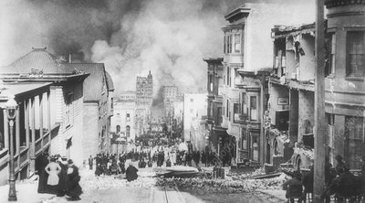 1906 San Francisco earthquake fire