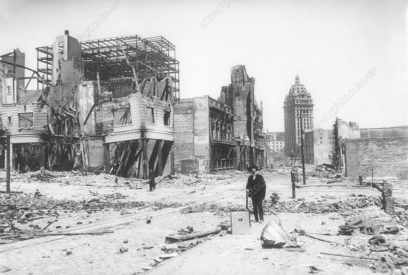 1906 San Francisco earthquake damage