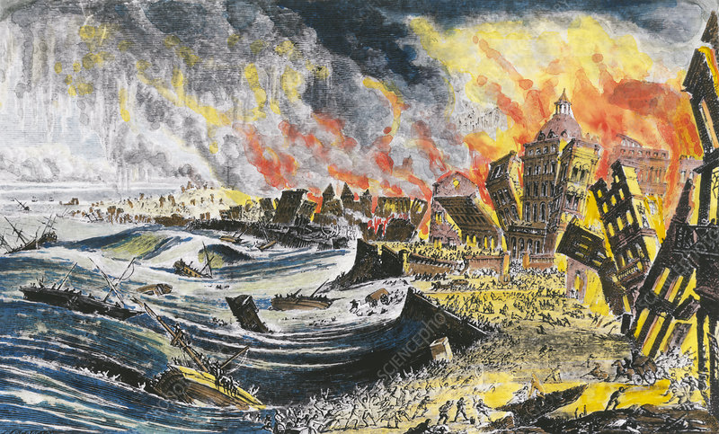 an analysis of the 1755 lisbon earthquake and candide Analysis of the seismic events around the world since 1755 shows only one of a   voltaire´s novel candide was partly set in the lisbon of the earthquake and.
