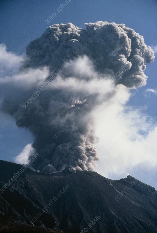 sakurajima volcano  japan
