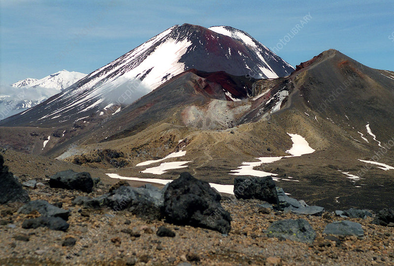 Tongariro volcanoes, New Zealand