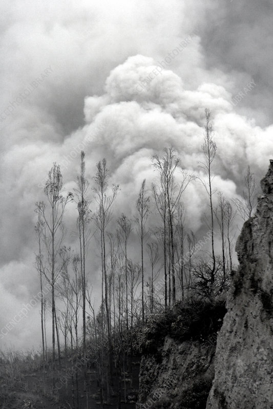 Secondary Pyroclastic Flow