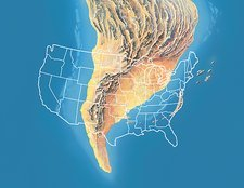 North America, Cambrian period